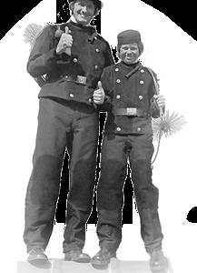 Kehranzug/Kehranzüge für Schornsteinfeger